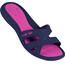 arena Athena Hook Pool Sandals Women denim-fuchsia
